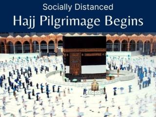 Socially distanced hajj pilgrimage begins