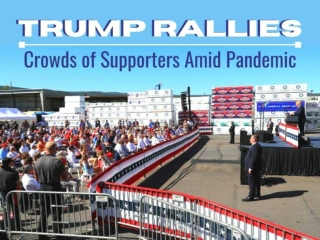 Trump rallies crowds of supporters amid pandemic