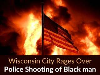 Wisconsin city rages over police shooting of Black man