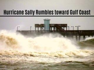 Hurricane Sally rumbles toward Gulf Coast