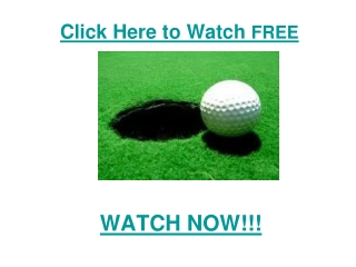 watch Arnold Palmer Invitational Golf 2011 live Streaming of
