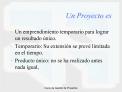 Curso de Gesti n de Proyectos