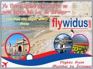 Book Flights from Mumbai to Jaipur