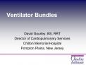 Ventilator Bundles