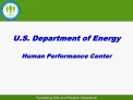 U.S. Department of Energy Human Performance Center