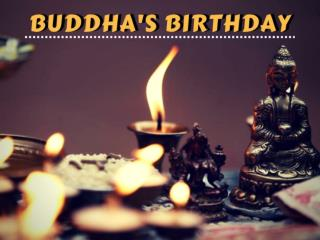 Lord Buddha's Birthday
