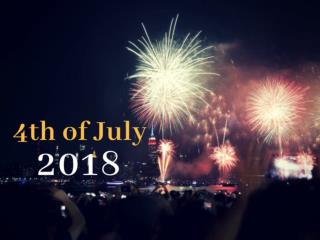 The Fourth of July 2018