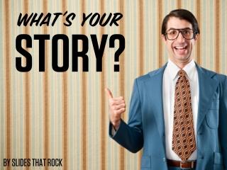 Great Speakers Tell Stories