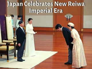 Japan celebrates new Reiwa imperial era