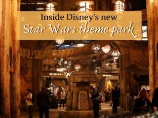 Inside Disney's new Star Wars theme park