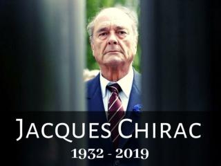 Jacques Chirac: 1932 - 2019