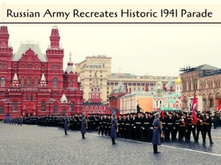 Russia re-enacts historic WW2 parade in Moscow