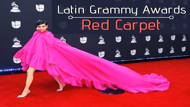 Latin Grammy Awards red carpet