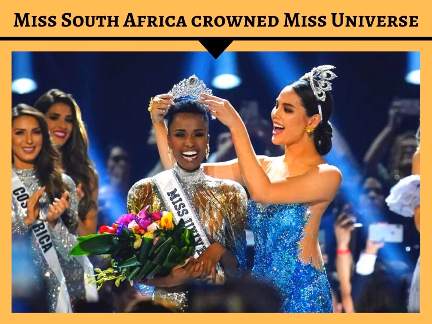 Miss South Africa crowned Miss Universe