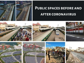 Public spaces before and after coronavirus