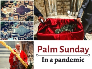 Palm Sunday in a pandemic