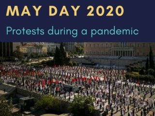 May Day 2020 protests during a pandemic